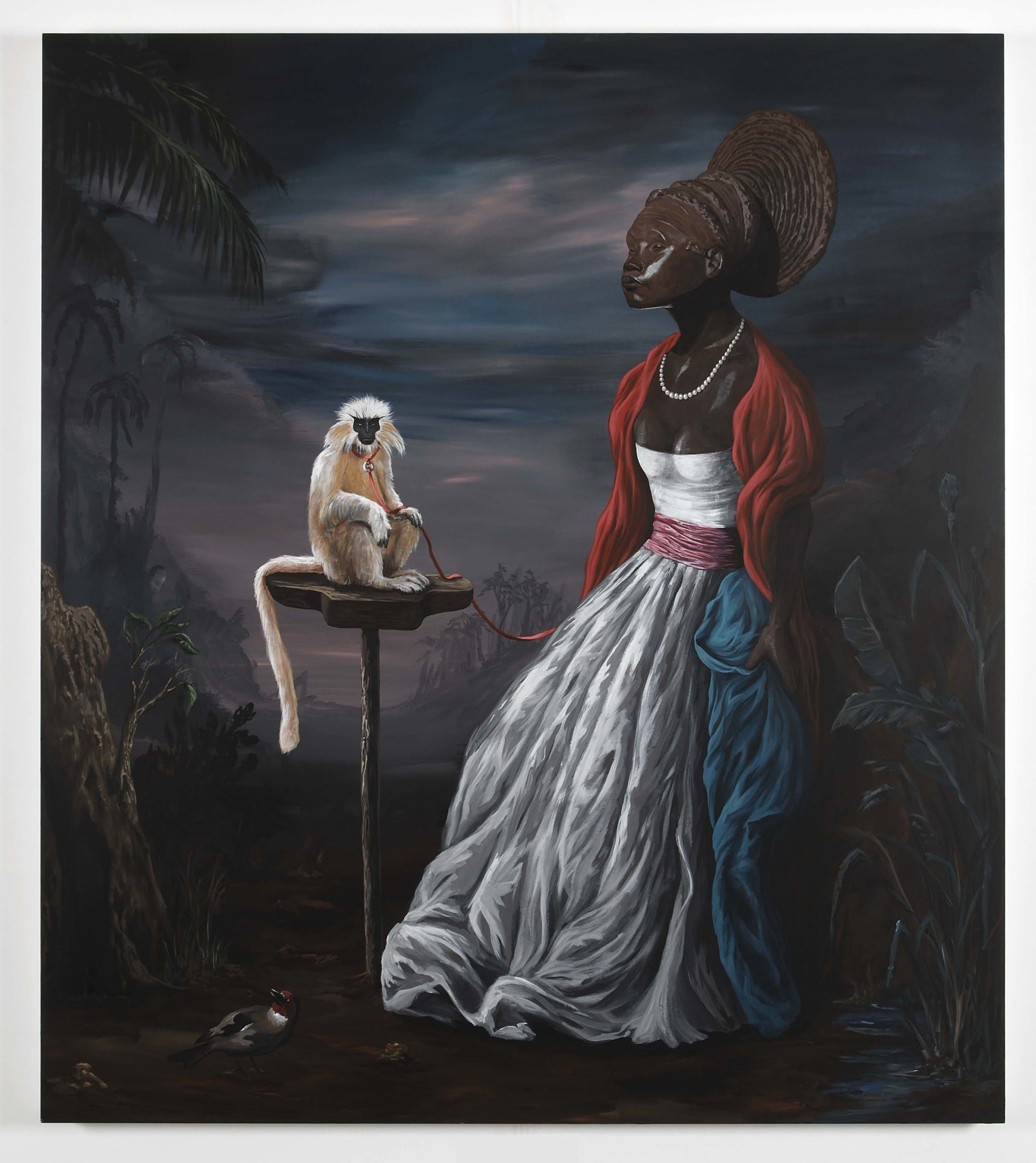 Benin Beauty 2009 Acrylic on board 168.5 x 148cm