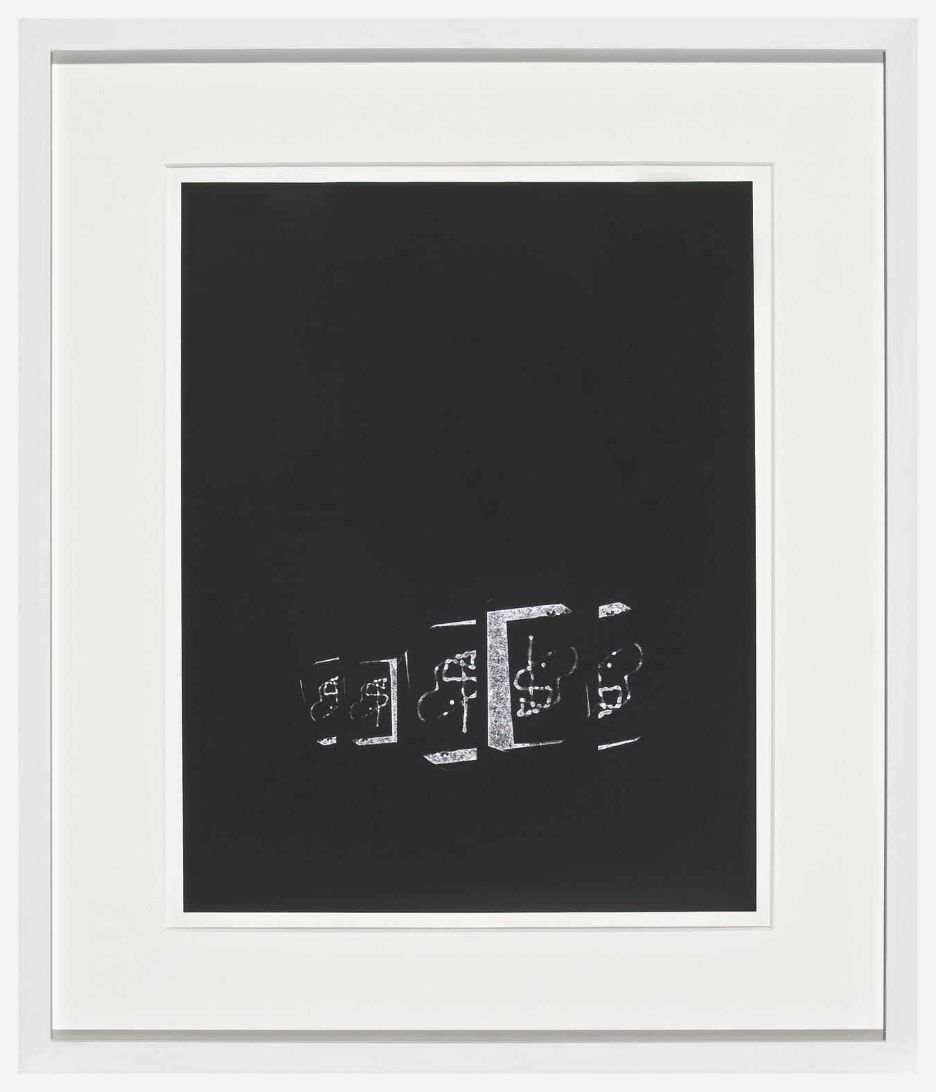 Josh Brand Untitled 2007 unique silver gelatin print 35.5 x 27.9 cm