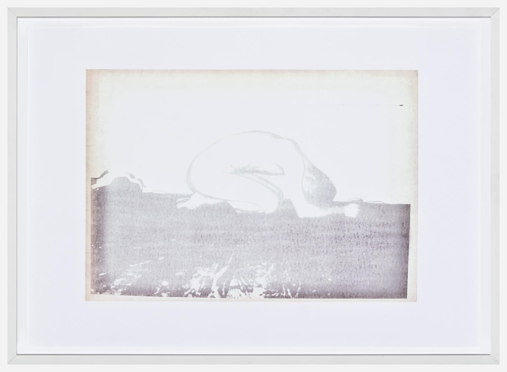 Wolfgang Tillmans Like Praying (Faded Fax) 2005 colour photocopies 33 x 45.5 cm