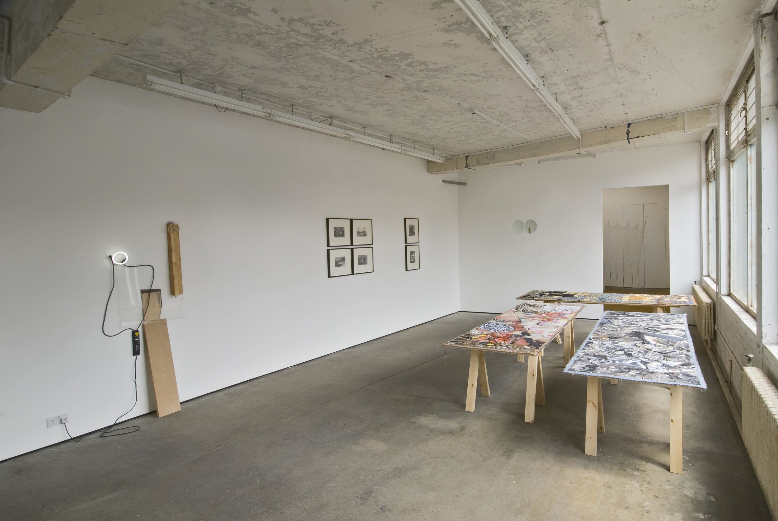 His Room  Installation View  Herald St, London