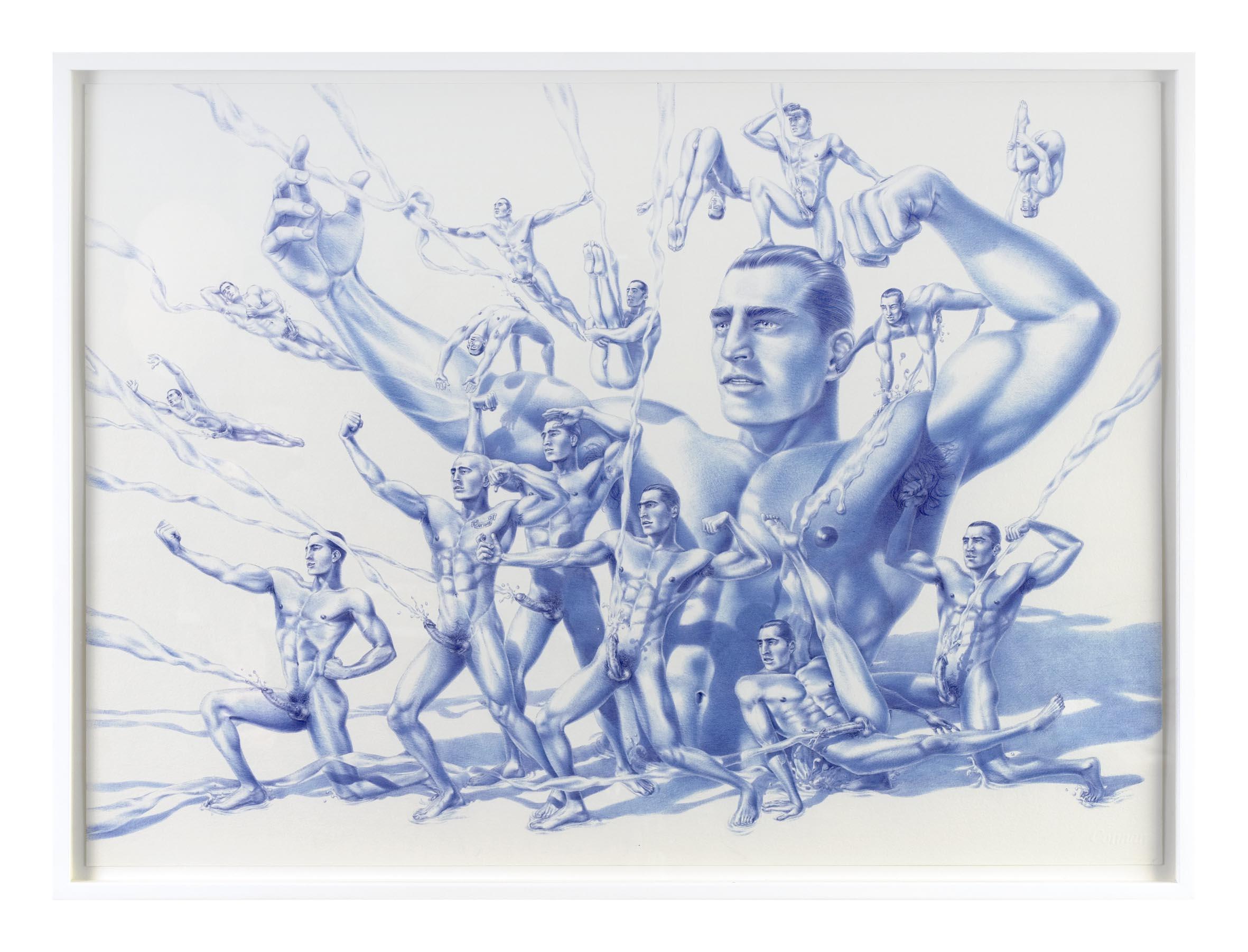 Cumrades 2007 Ink on Paper 56 x 76 cm