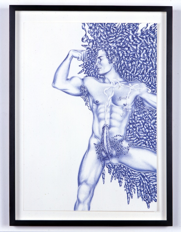 Untitled (Curls)   2005   Ink on paper   A3