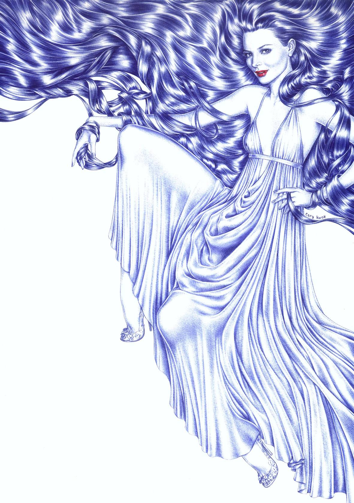 Georgina   2005   Ink on paper   A3