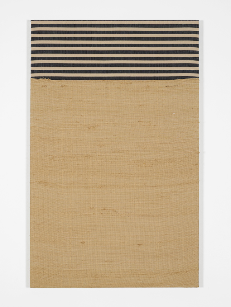 Service Entrance  2013  Silk, monofilament  121.9 x 76.2 cm / 48 x 30 in