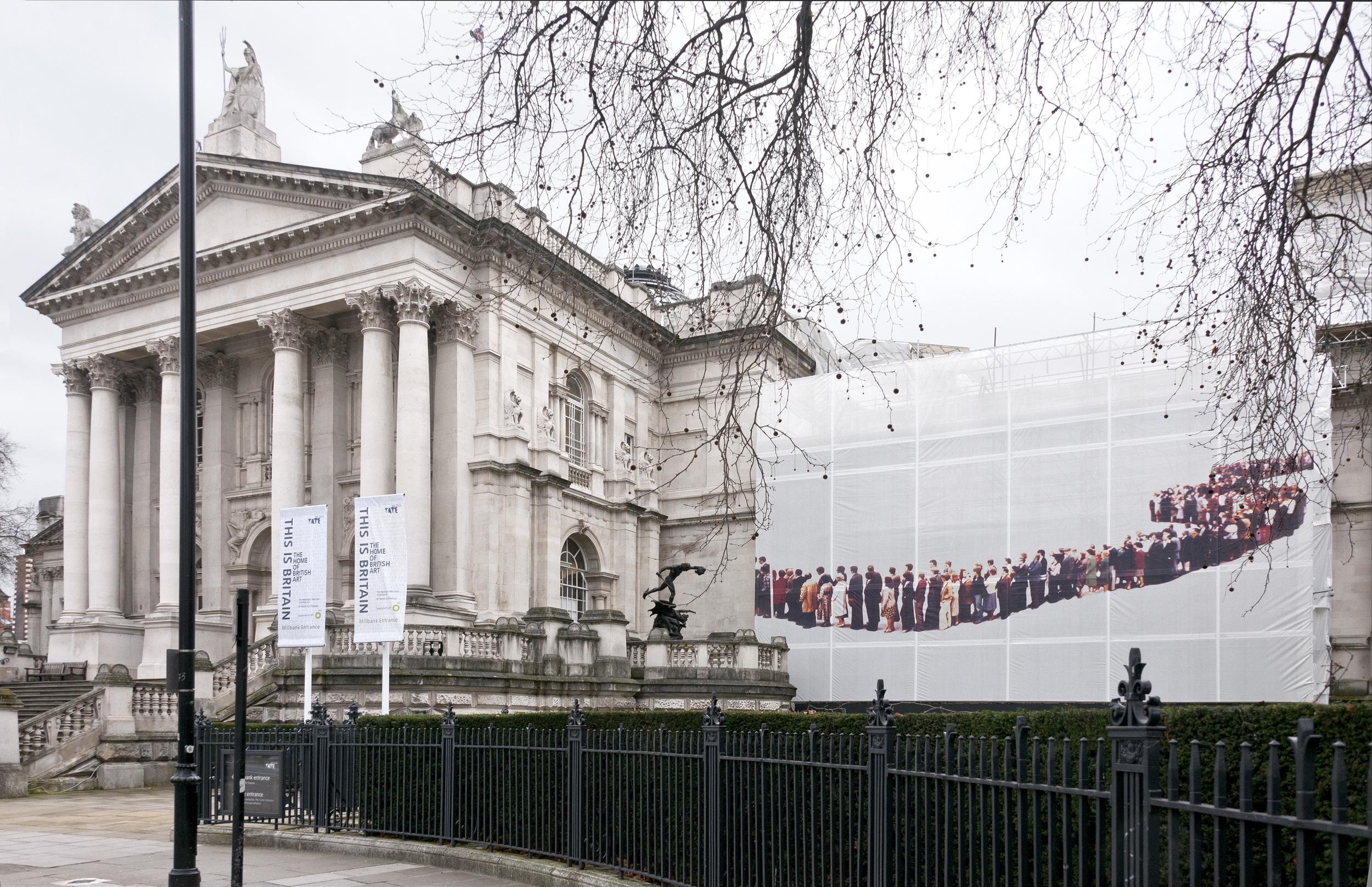 Untitled Installation View Tate Britain, London, UK  2012