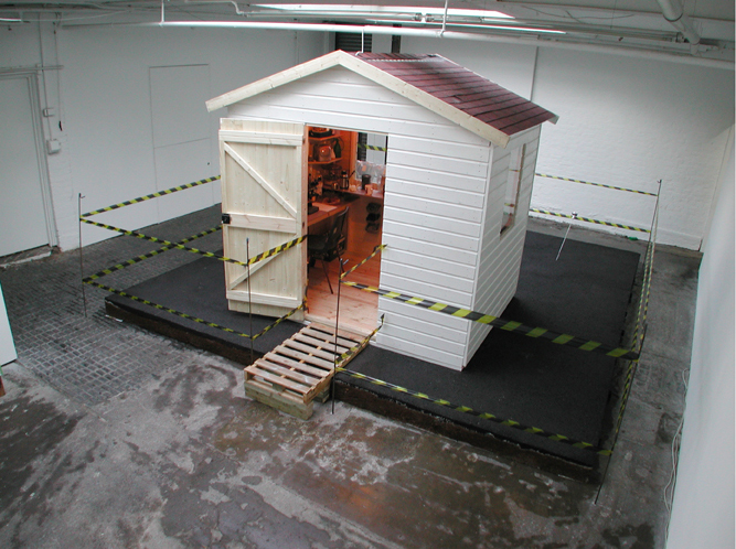 Unfolding Cul-de-sac   Installation View   Cubitt Gallery, London, UK    2004