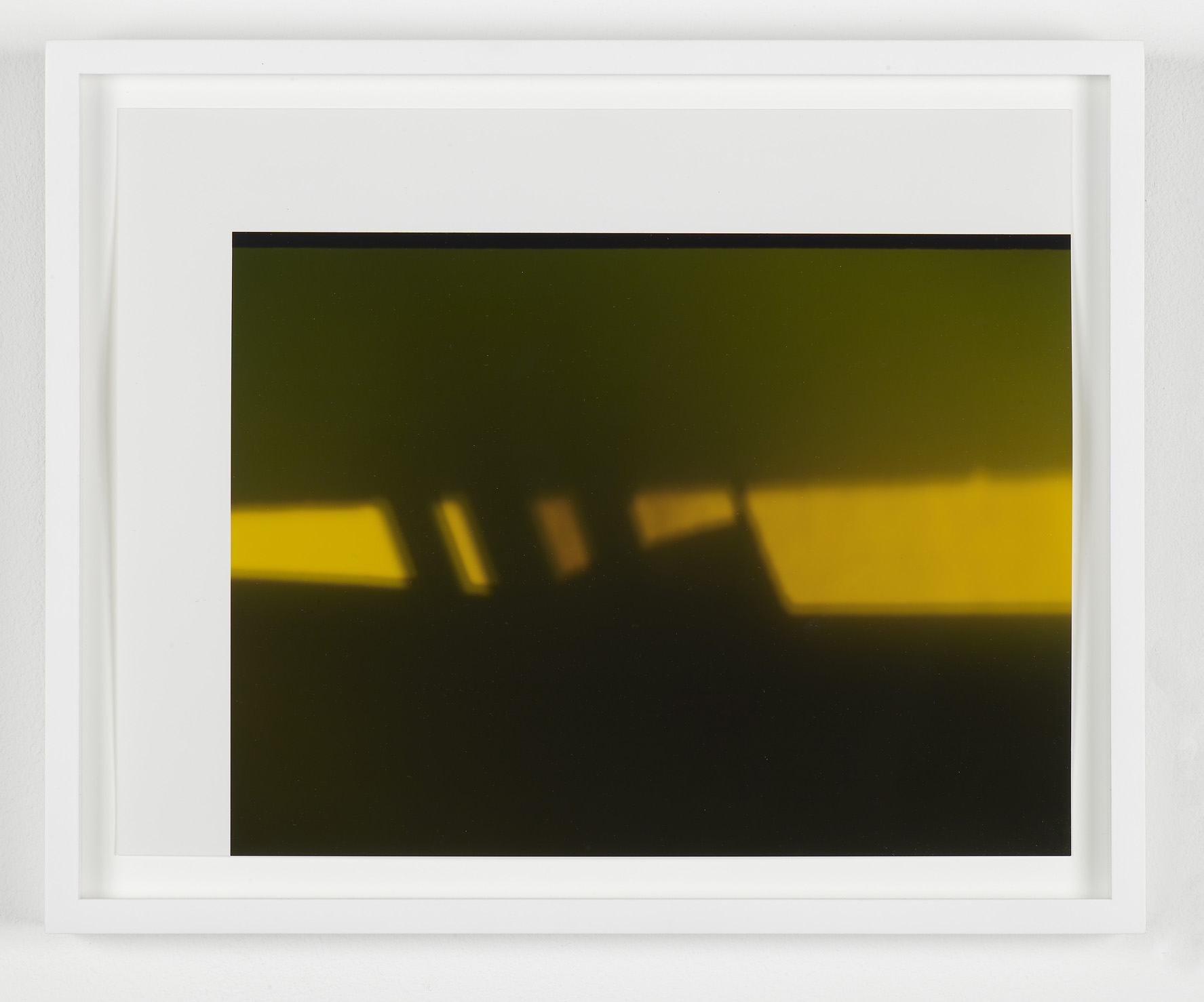 Untitled (Corner) 2009 Unique c-print 11 x 14 in / 27.9 x 35.6 cm