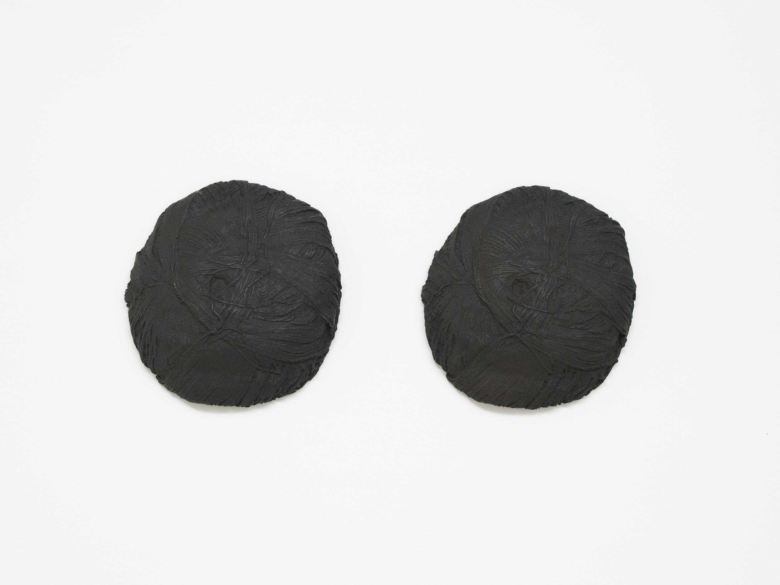 Twins   2012   Bronze   2 parts, each part: 25 x 24 x 6 cm / 9.8 x 9.4 x 2.4 in