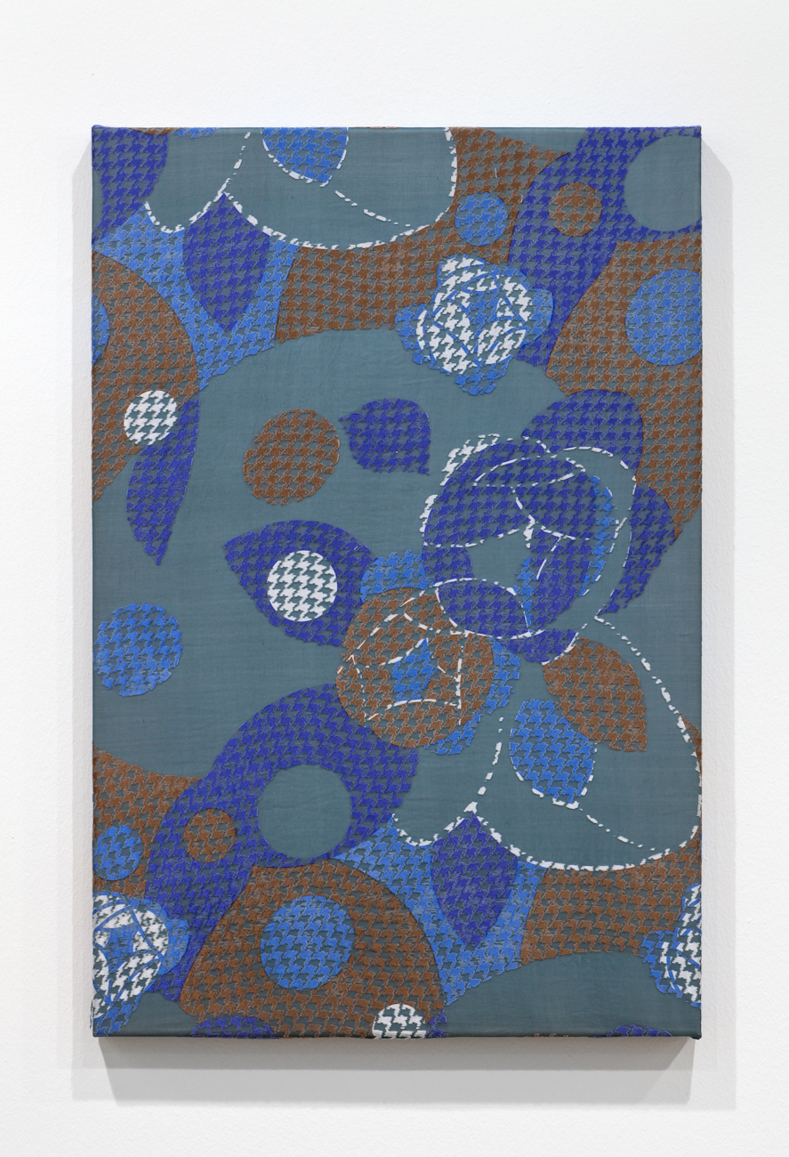 Slow Surgery 2014 Silk, rayon and cotton 90 x 60 cm / 35.4 x 23.6 in
