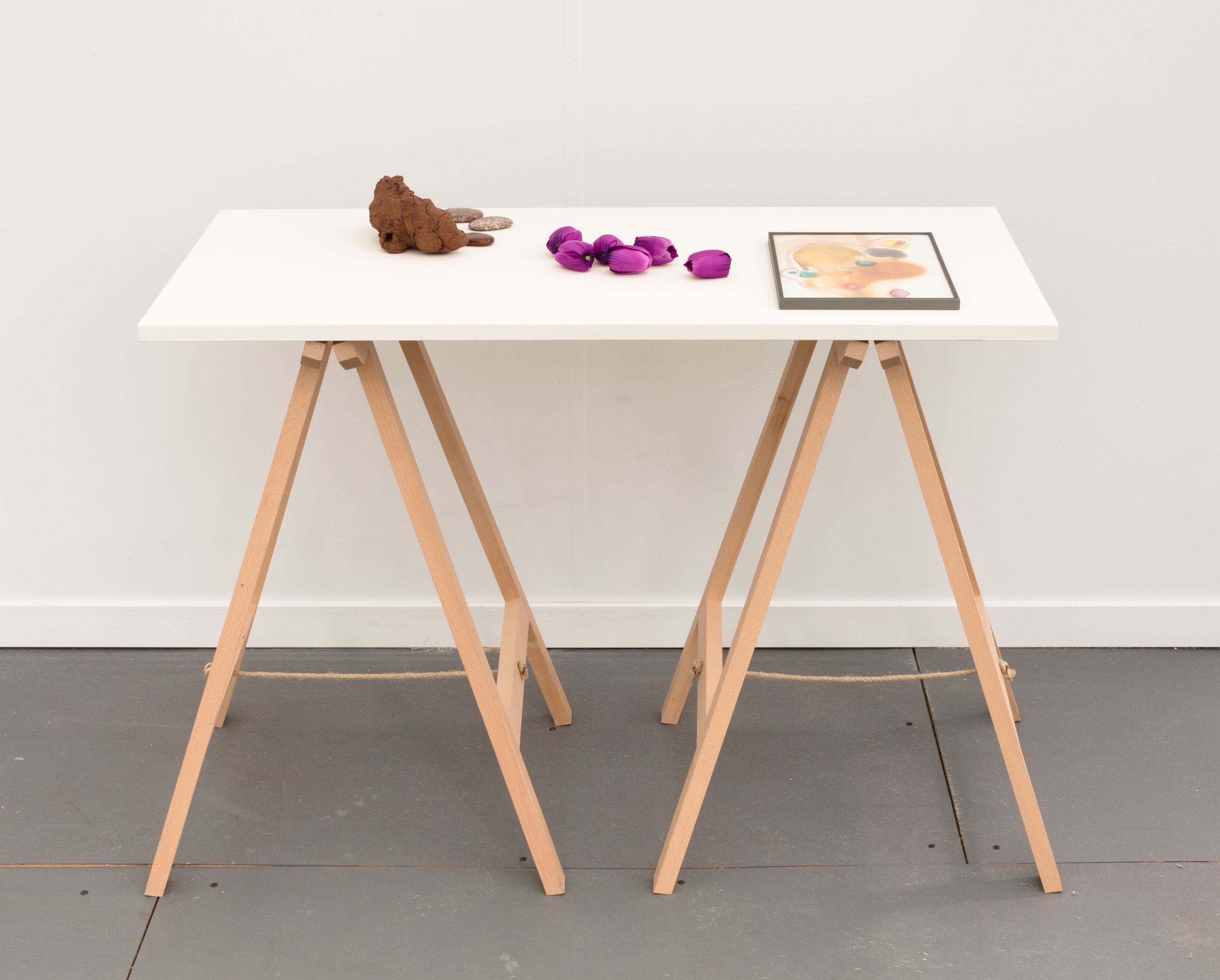 Tableset. 1 2014 Mixed media  Dimensions variable
