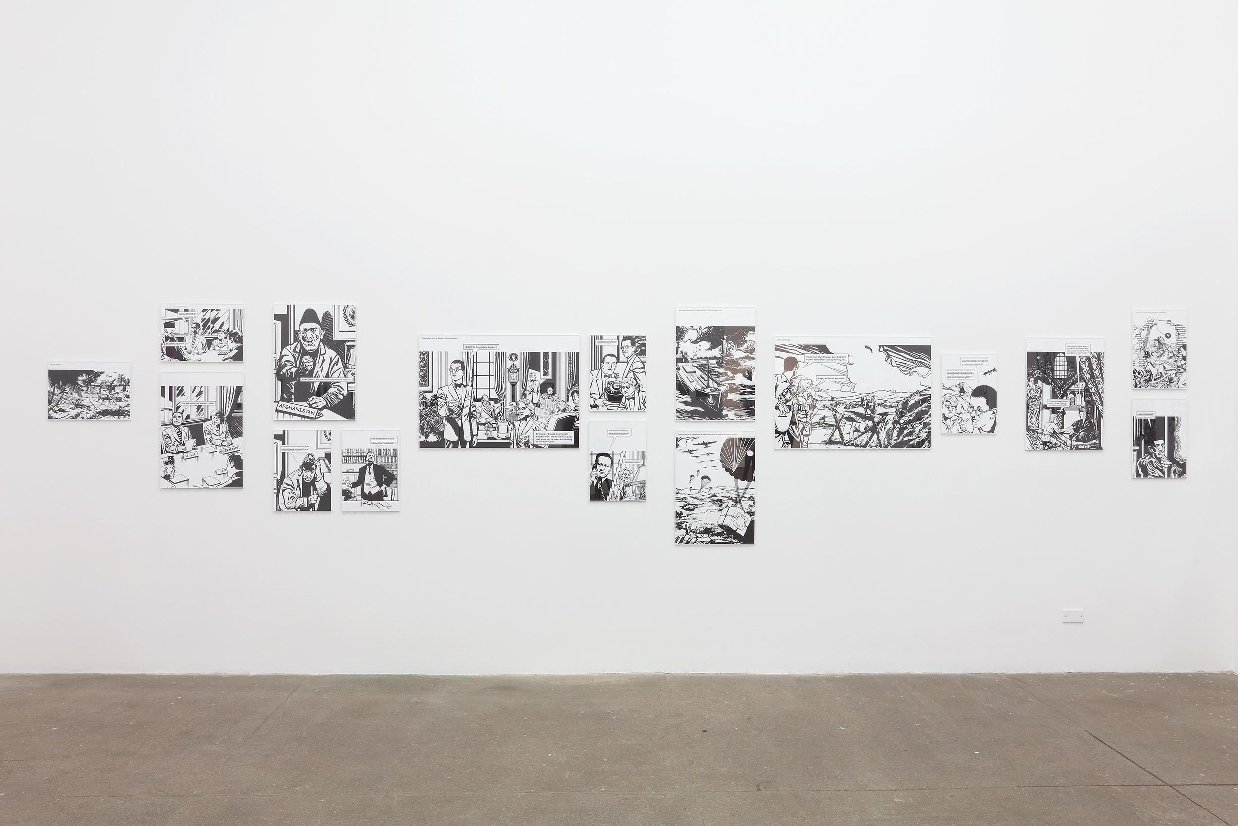 Anish and Antony Take Afghanistan 2014 Inkjet print on paper 32 parts: 10 x (44 x 62 cm / 17.3 x 24.4 in),14 x (34 x 44 cm / 13.3 x 17.3 in), 8 x (62 x 86 cm / 24.4 x 33.8 in) Ed. 1/2 + 1 AP