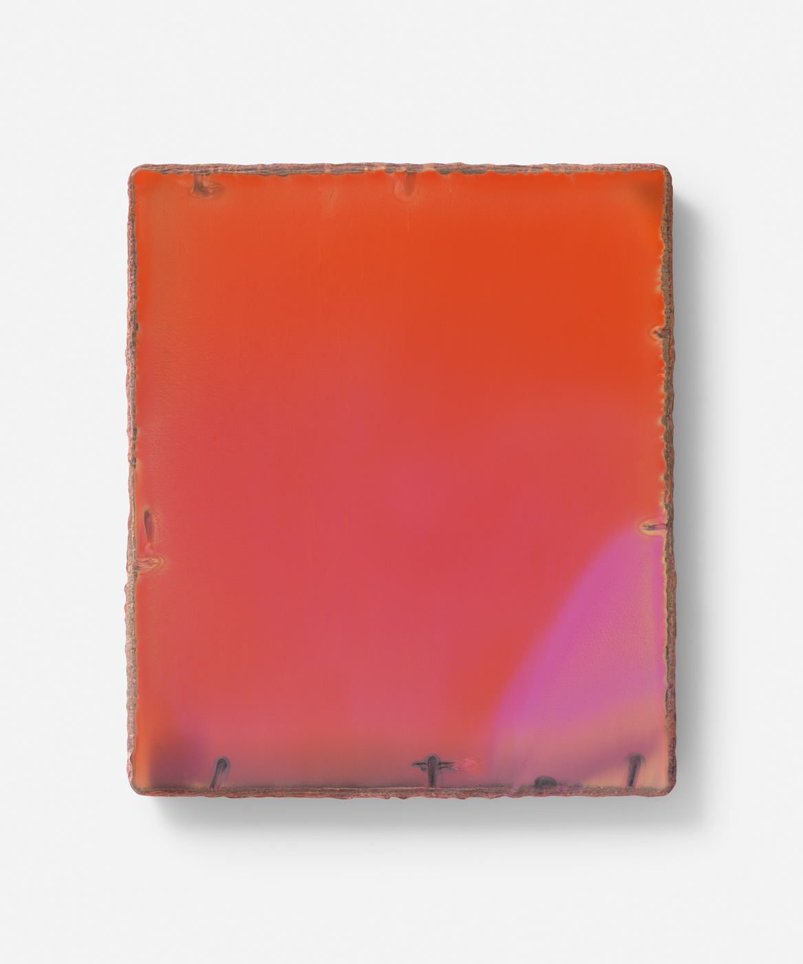Untitled 2014 Oil on gesso board 35 x 30 cm / 13.7 x 11.8 in