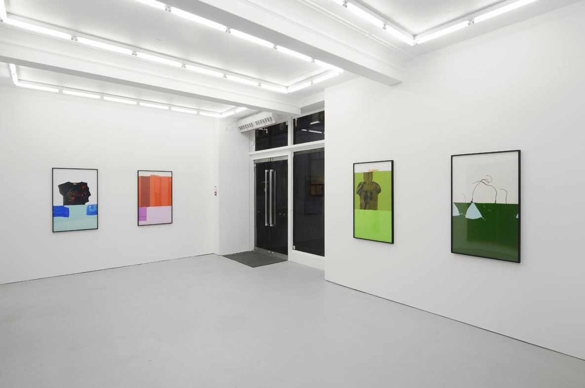 Installation view Herald St - Golden Sq, London