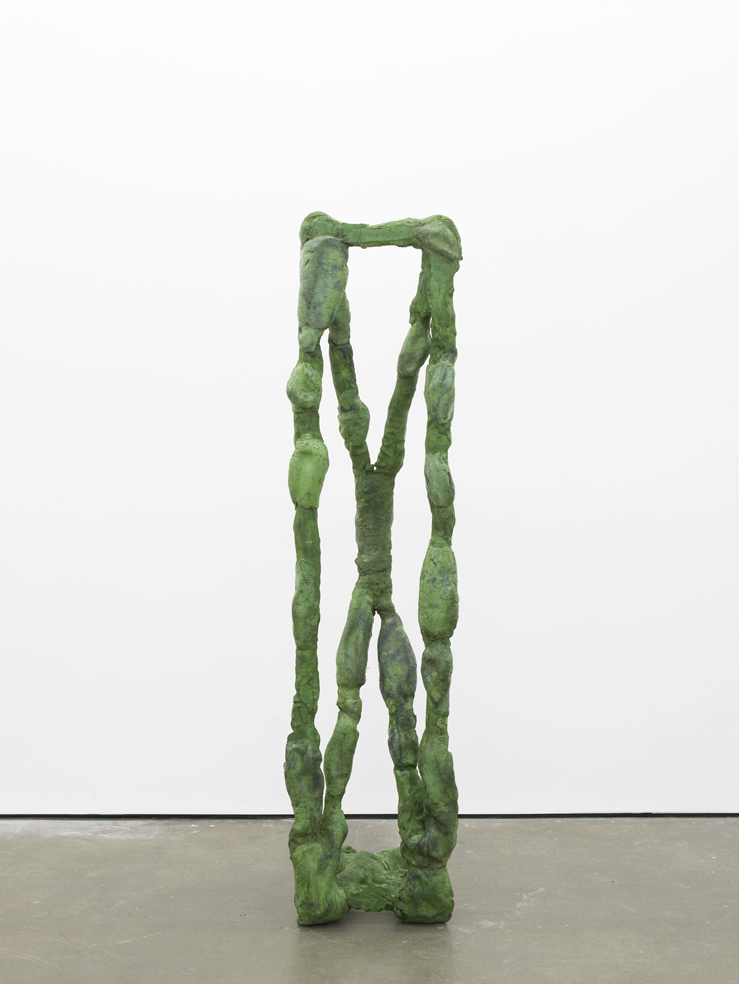 Michael Dean X (working title) 2015 Concrete 177 x 44 x 51 cm / 69.6 x 17.3 x 20 in