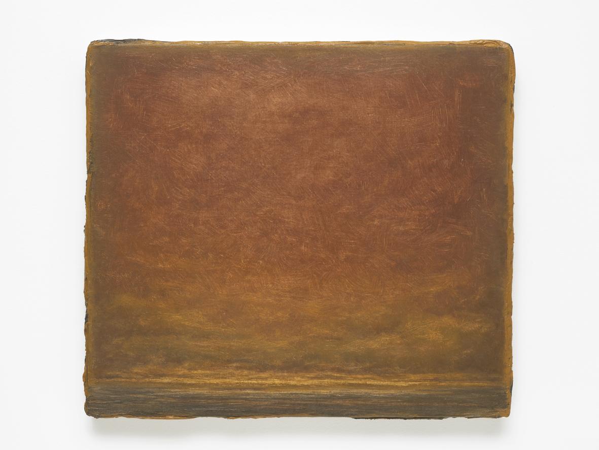 Lucas Arruda Untitled 2015 Oil on Canvas 30.8 x 35 x 2.5 cm / 12.1 x 13.7 x 0.9 in