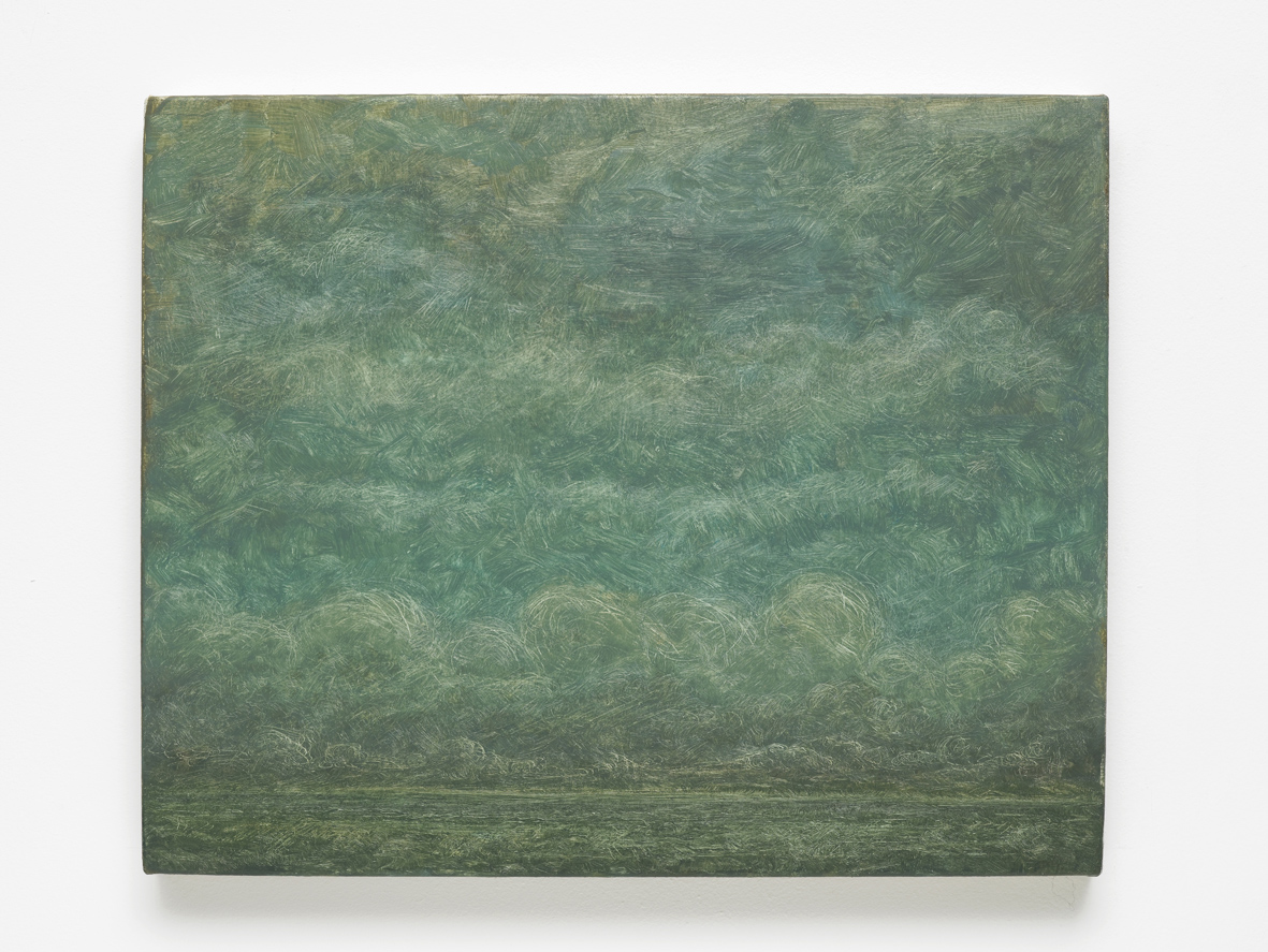 Lucas Arruda Untitled 2015 Oil on Canvas 24.2 x 30.2 x 2.5 cm / 9.5 x 11.8 x 0.7 in
