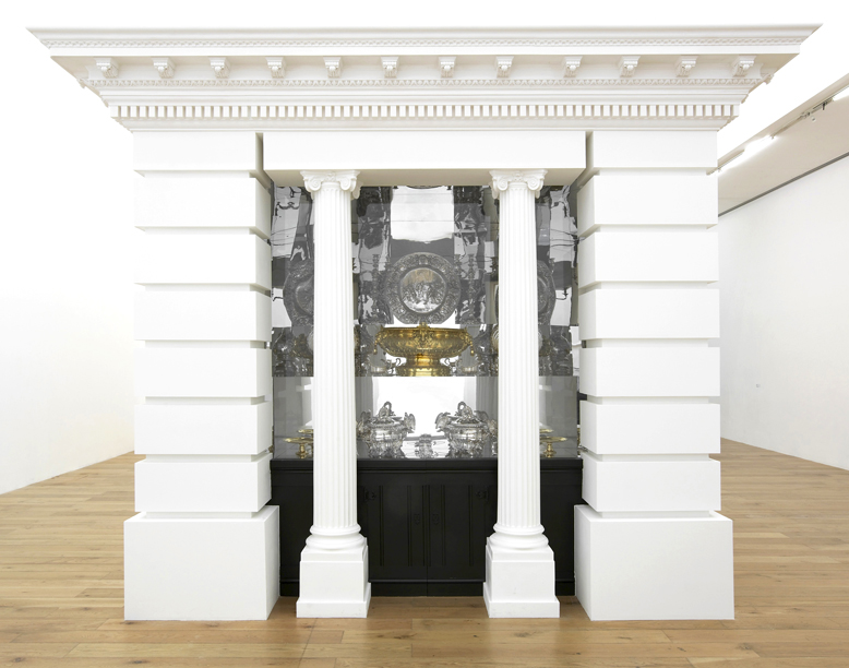 Silver Temple Installation View Nottingham Contemporary, Nottingham, UK 2015
