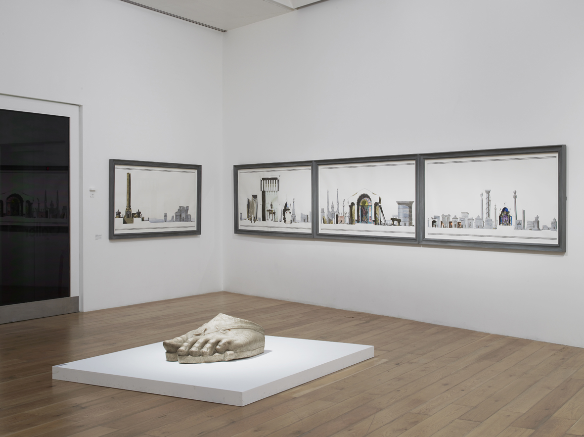 Pablo Bronstein and the Treasures of Chatsworth Installation View Nottingham Contemporary, Nottingham, UK 2015