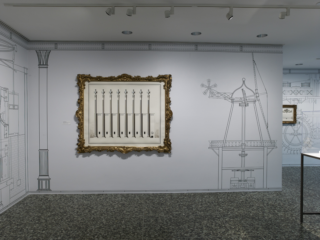 We live in Mannerist times  Installation View  Museum of Fine Arts, Houston, US  2015