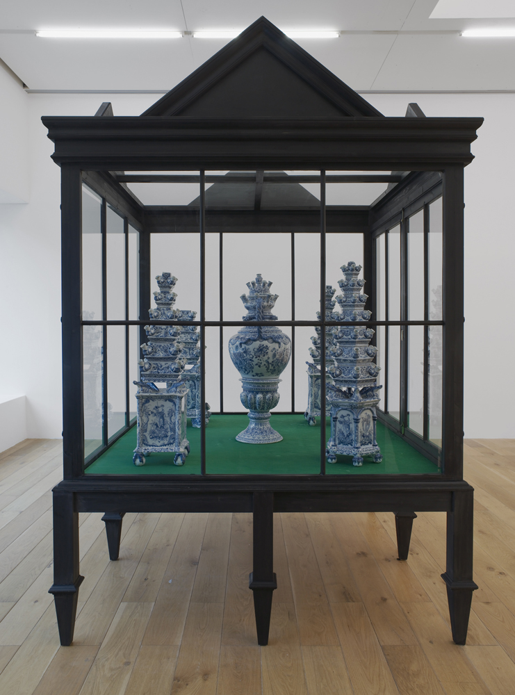 Delft Vitrine Installation View Nottingham Contemporary, Nottingham, UK 2015