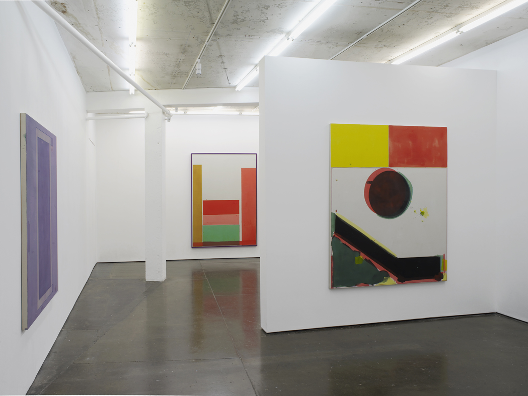 Matt Connors  Not Straight  Installation View  Herald St  2015