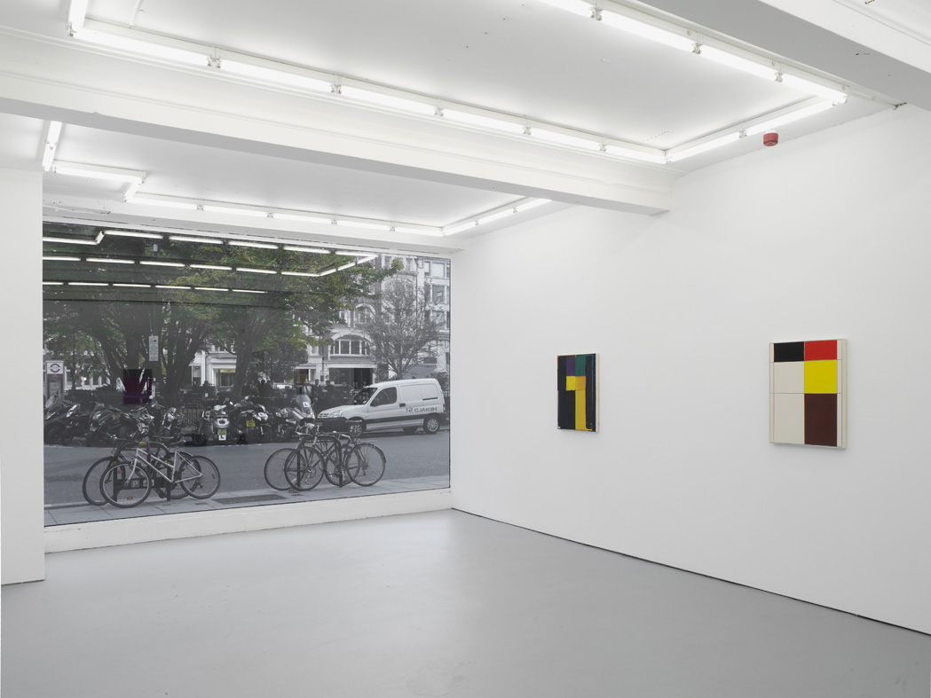 Matt Connors Not Straight  Installation View  Herald St - Golden Sq  2015