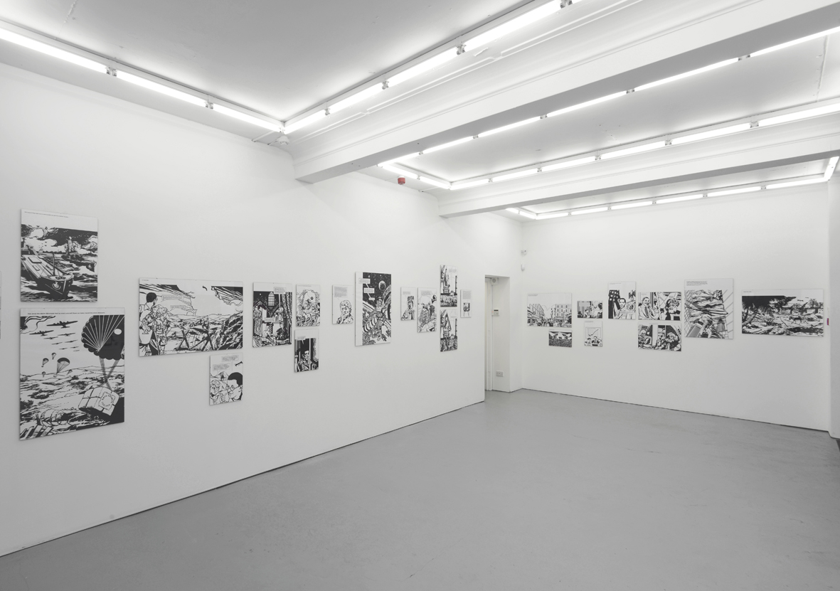 Scott King  Anish and Antony Take Afghanistan  Installation View  Herald St - Golden Sq  2015