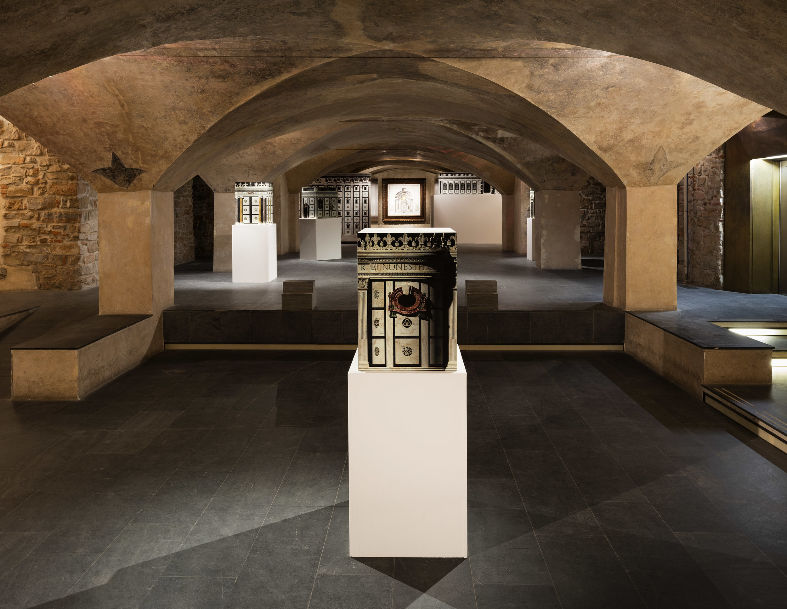 Installation View Museo Marino Marini, Florence, IT 2015