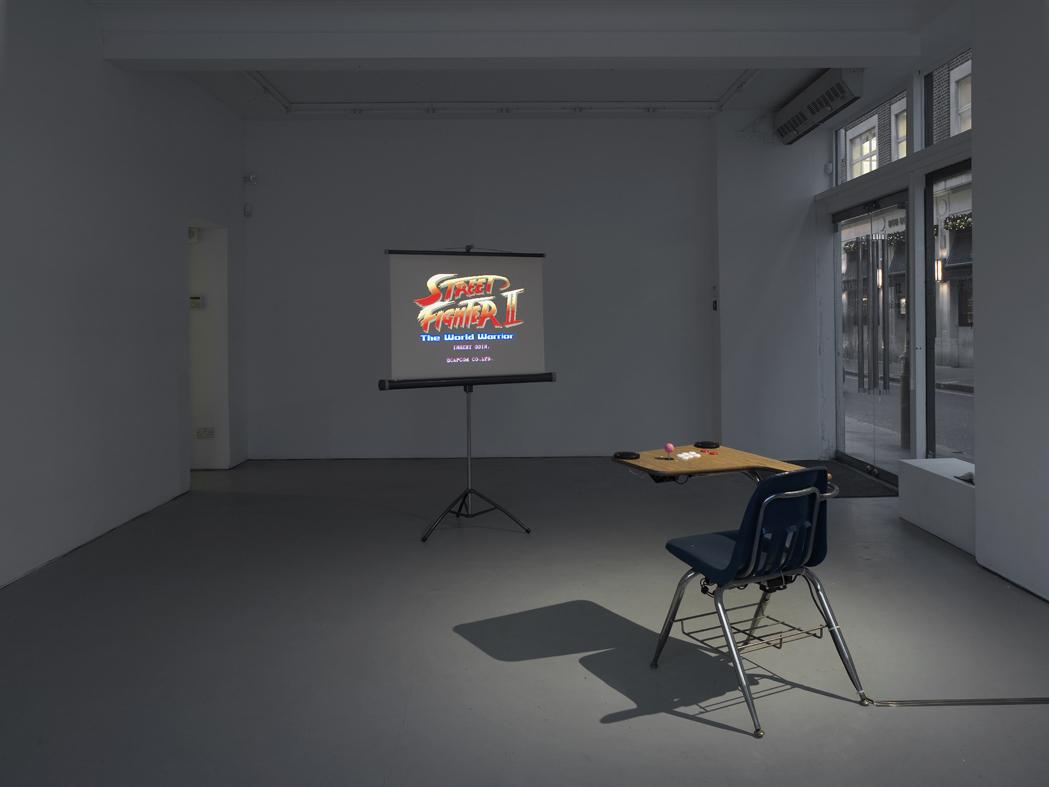 Oliver Payne Imagination Station (Procedural Rhetoric)  Installation View Herald St -Golden Sq 2015