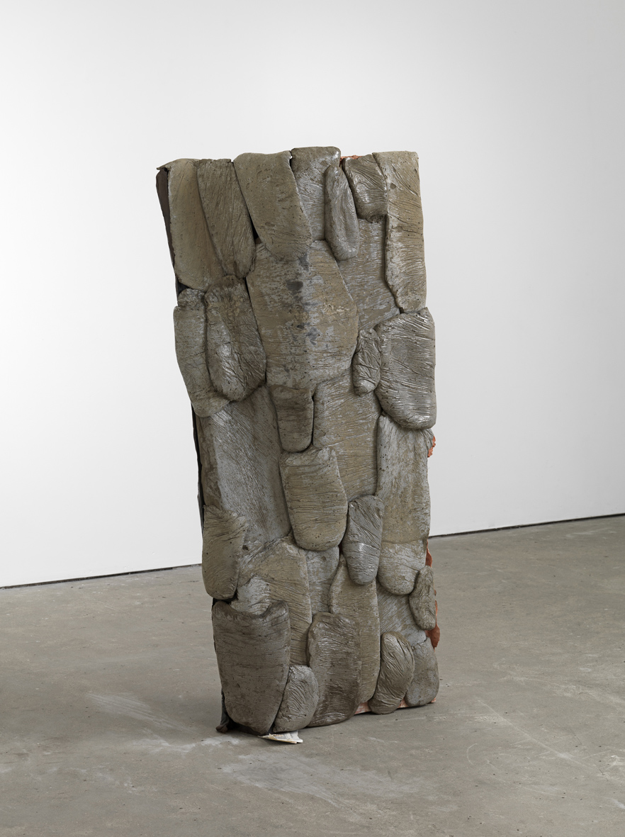 nownow (Working Title) 2015 Concrete 156 x 90 x 35 cm / 61.4 x 35.4 x 13.7 in