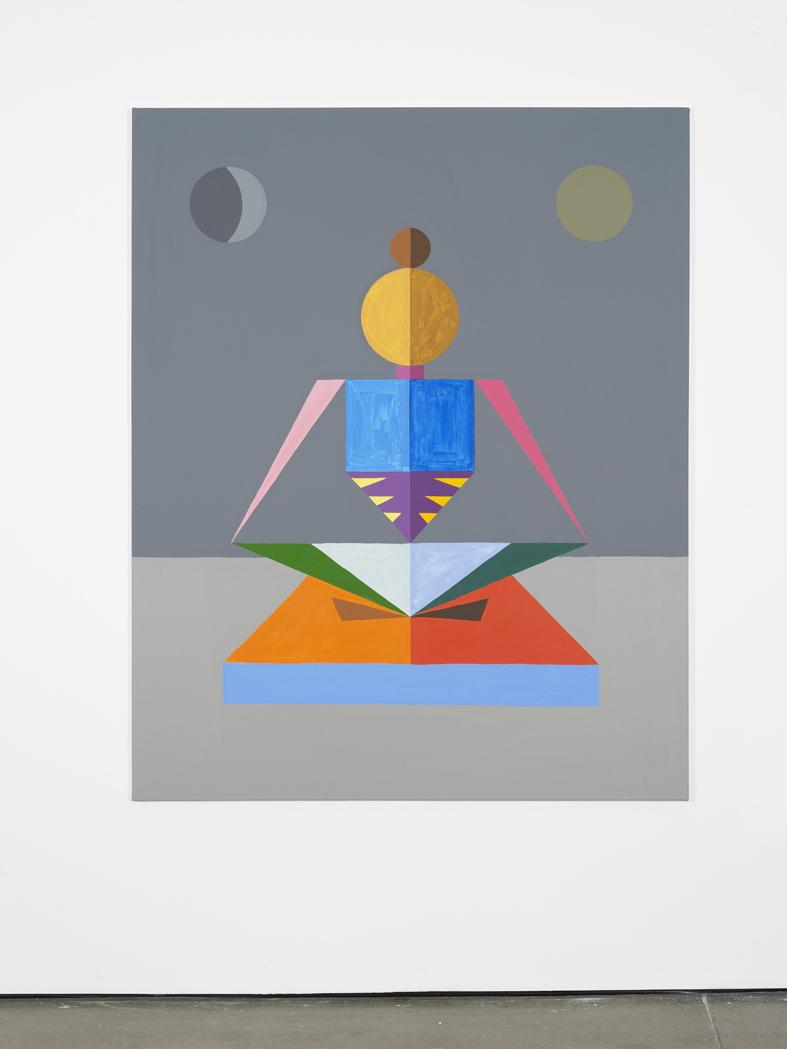 Discipline 2016 Acrylic on canvas 152.4 x 121.9 cm / 60 x 48 in
