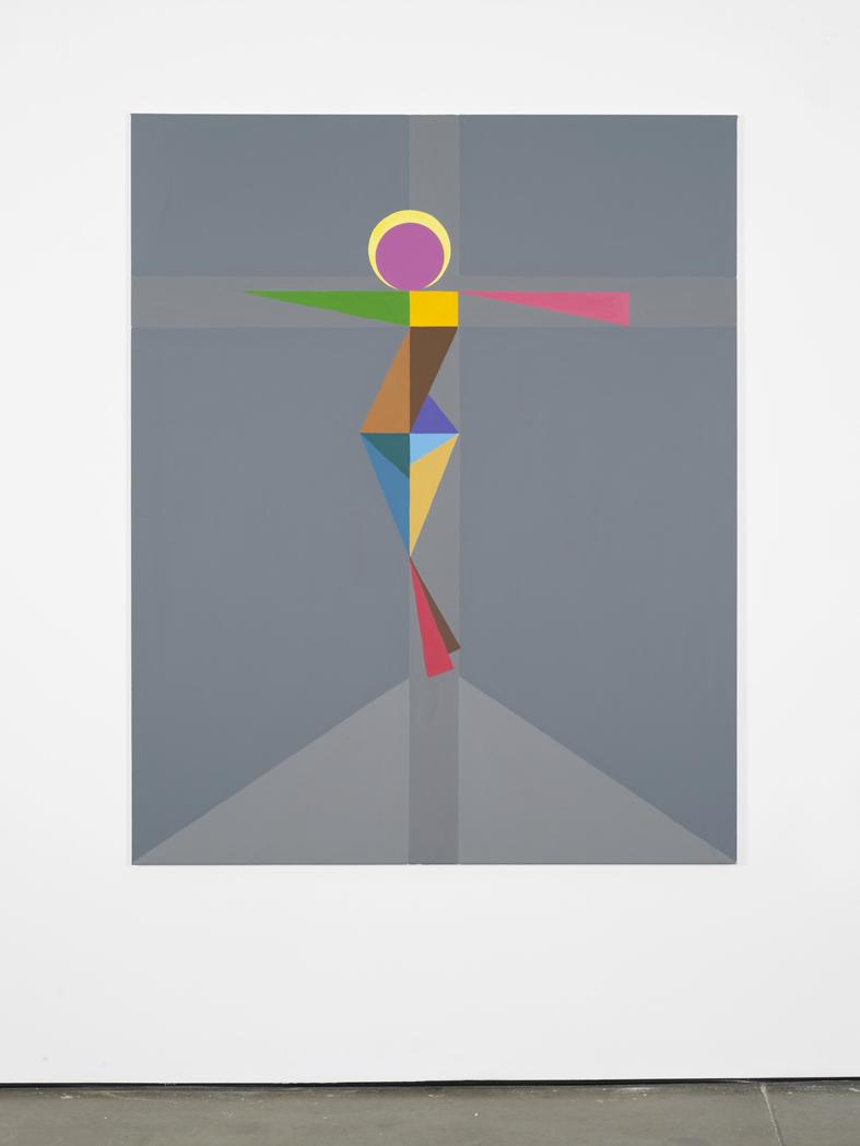 Chris 2016 Acrylic on canvas 152.4 x 121.9 cm / 60 x 48 in
