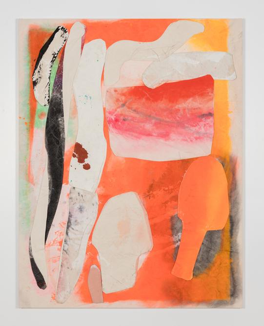 Paris Bubbles Open Press 2016 Acrylic and gesso on canvas 133.3 x 102.8 cm / 52.5 x 40.5 in