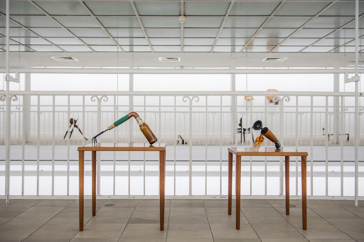 Katachrese  Installation View Kunstverein Freiburg, Freiburg, DE 2016