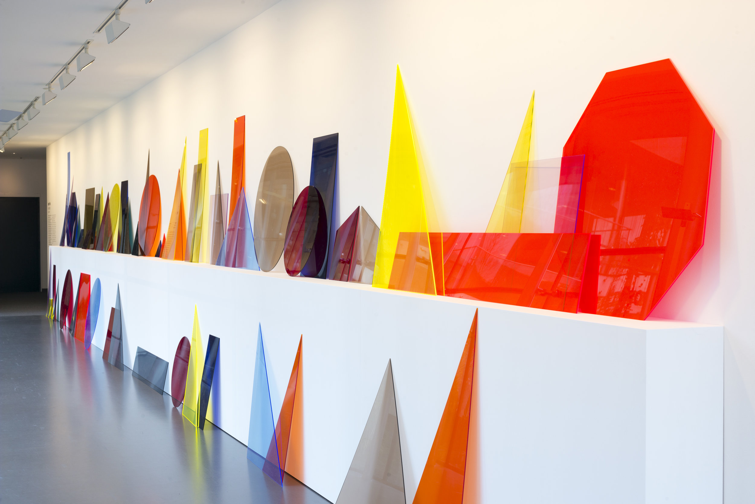 A ∩ B ∩ C (line)  Installation View  Van Abbemuseum, Eindhoven, NL  2014