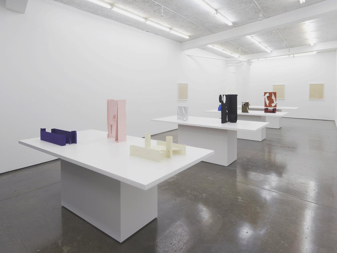 Matt Paweski Installation View Herald St 2017