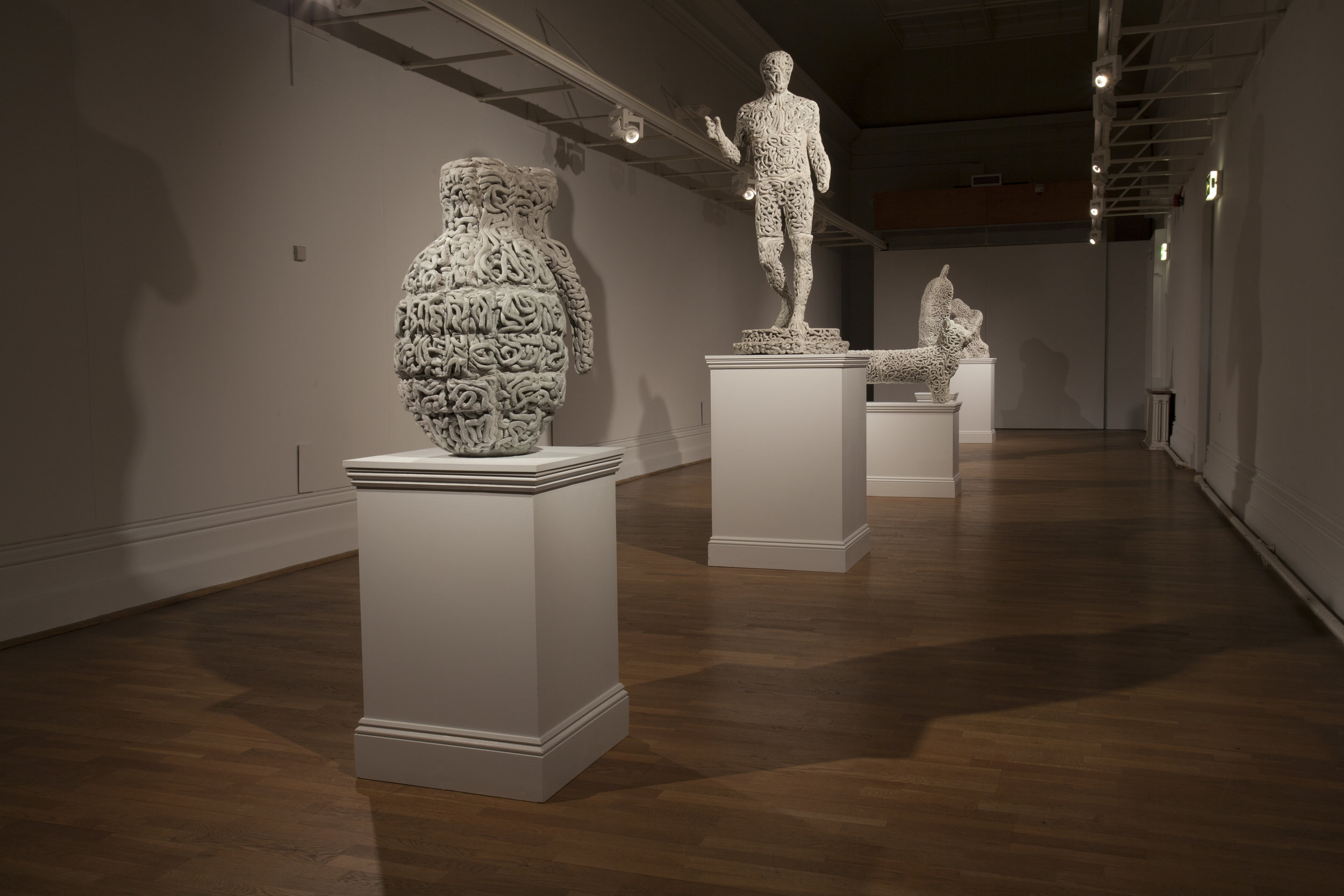 The Object is Alive  Installation View  Nottingham Castle Museum & Art Gallery, Nottingham, UK  2017