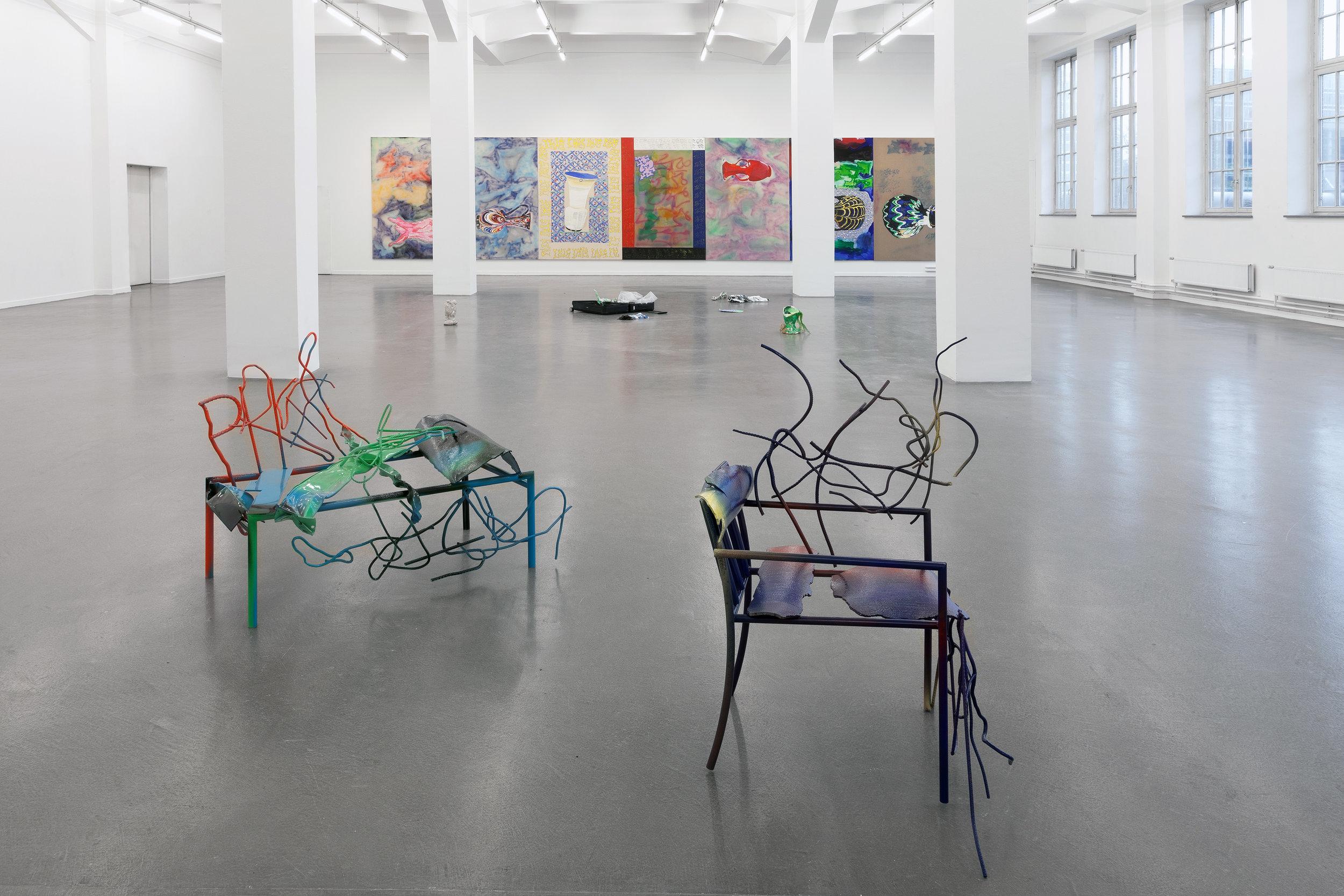 Diary of a Madam Installation View Kunsthaus Hamburg, Hamburg, DE 2017