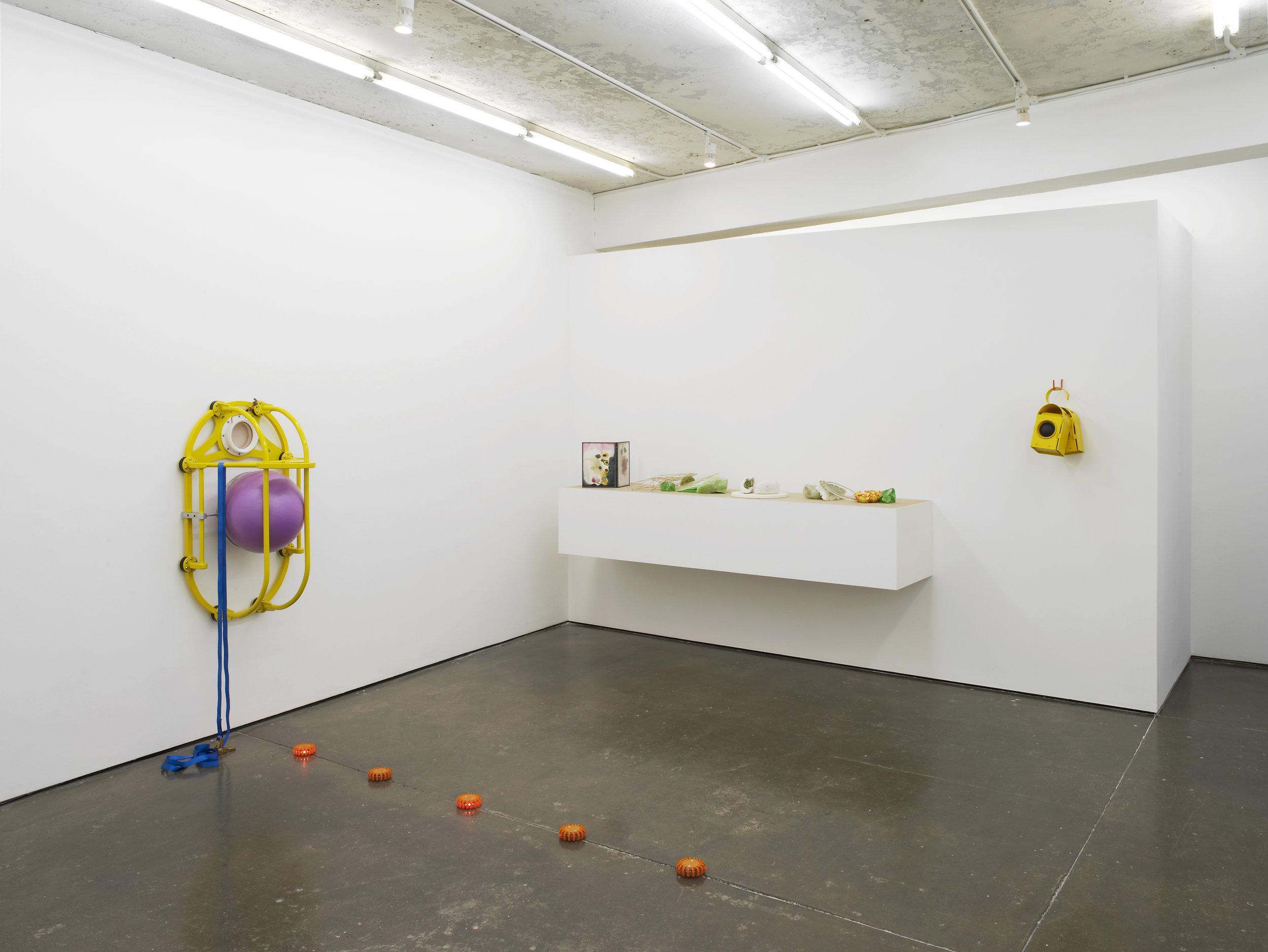 Christina Mackie  Drift Rust  Installation View  Herald St  2017
