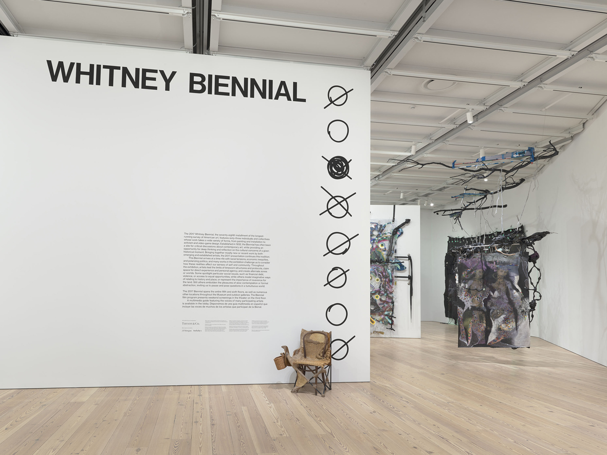 Whitney Biennial Installation View Whitney Museum of American Art, New York, US 2017