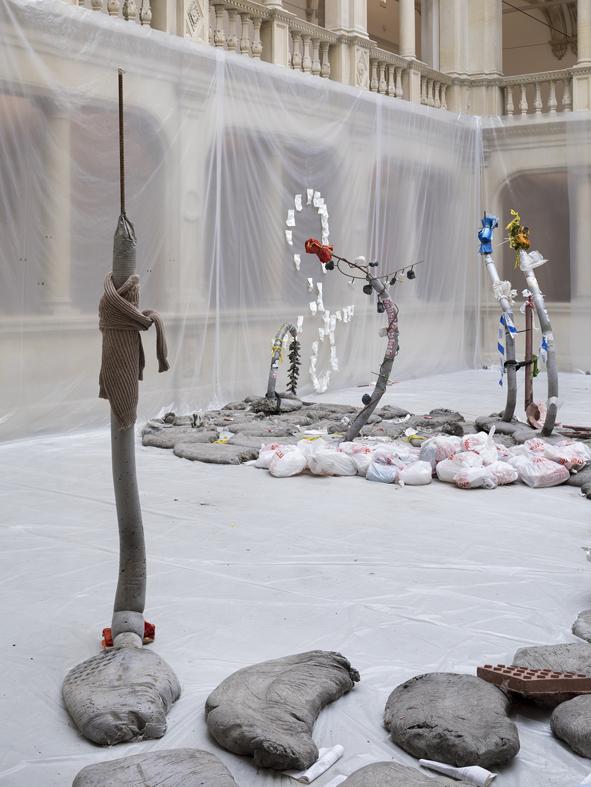 Tender Tender  Installation View  Skulptur Projekte, Münster, DE  2017