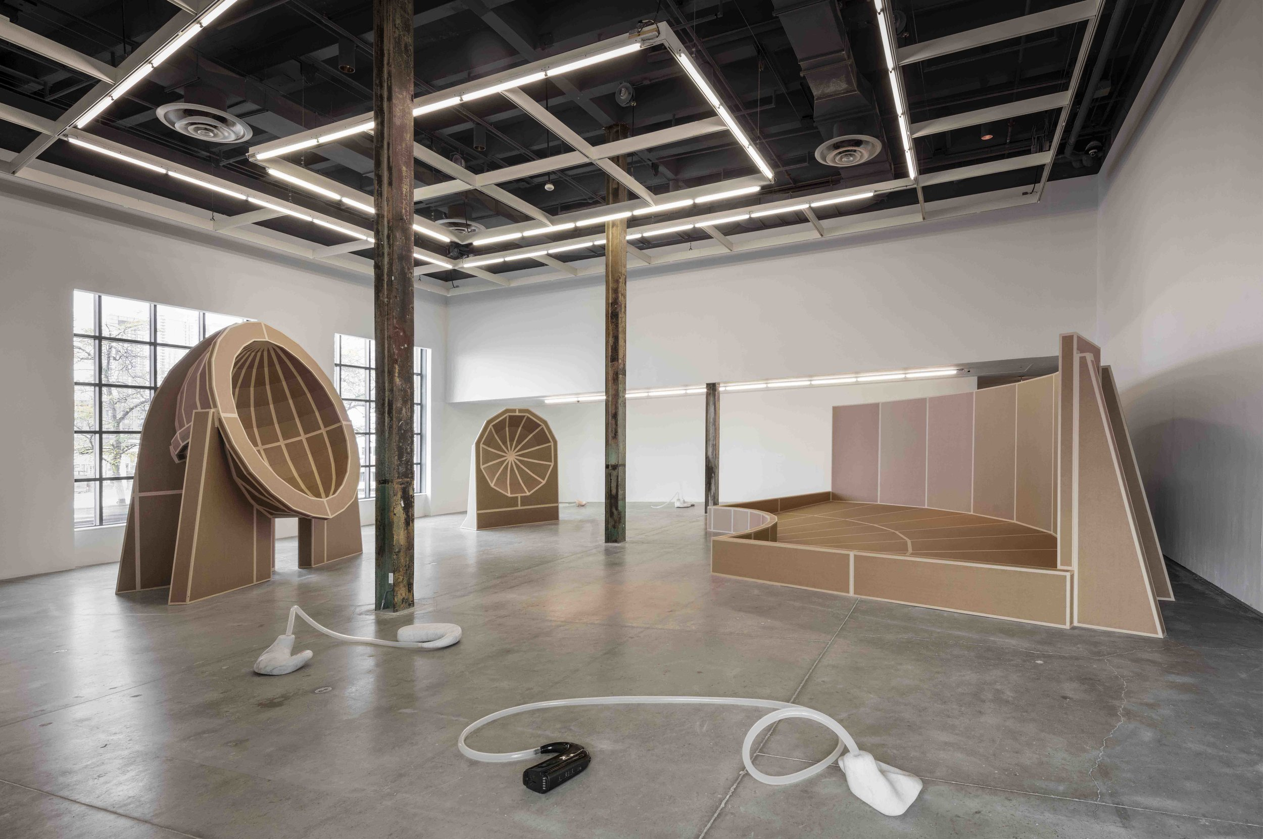 ears to speak of  Installation View  The Power Plant, Toronto, CA  2017