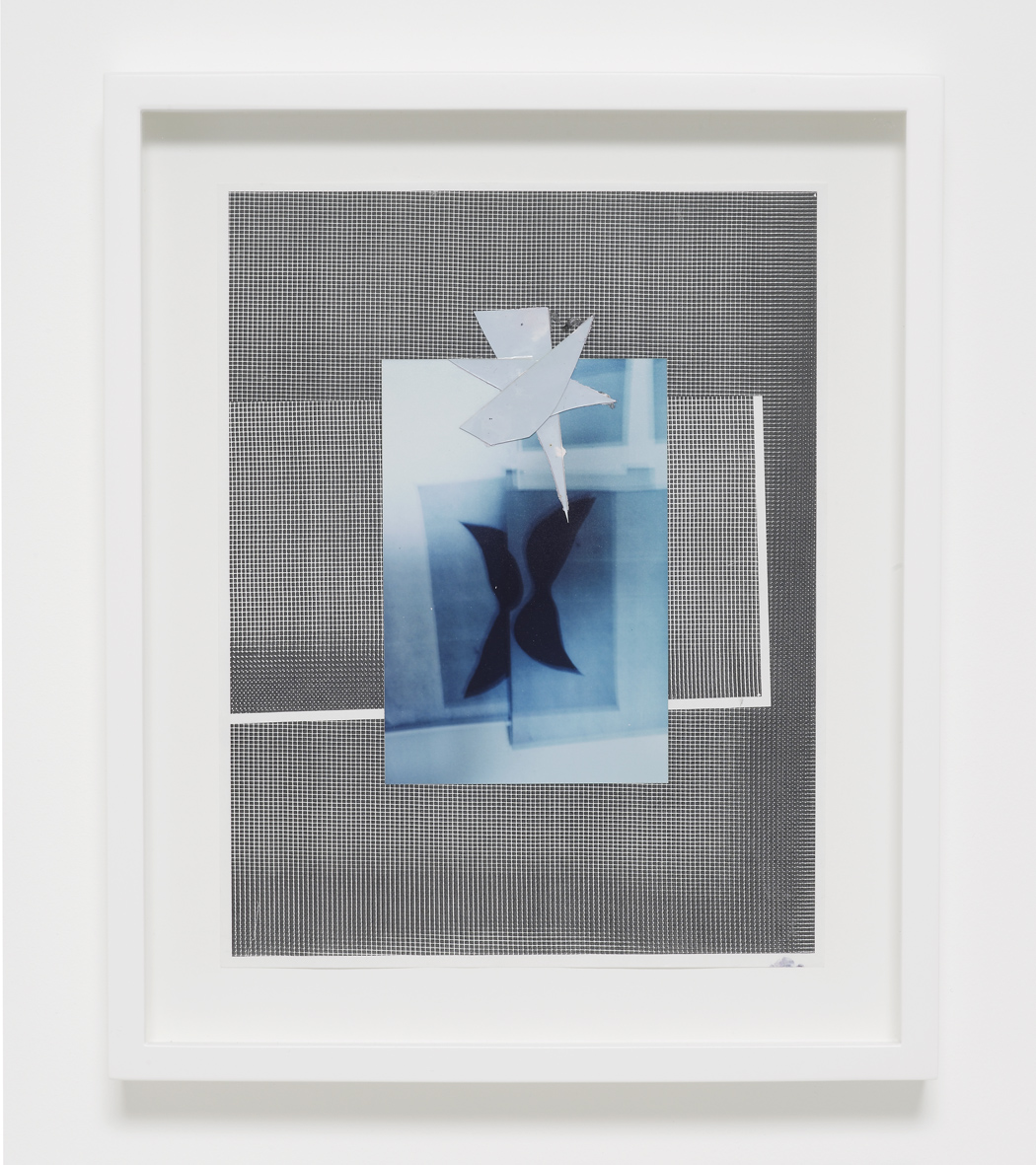 Josh Brand  Untitled   2018  Mixed media, c-print, dyed photograms, photocopy   35.5 x 29 x 4.4 cm / 13.9 x 11.4 x 1.7 in framed