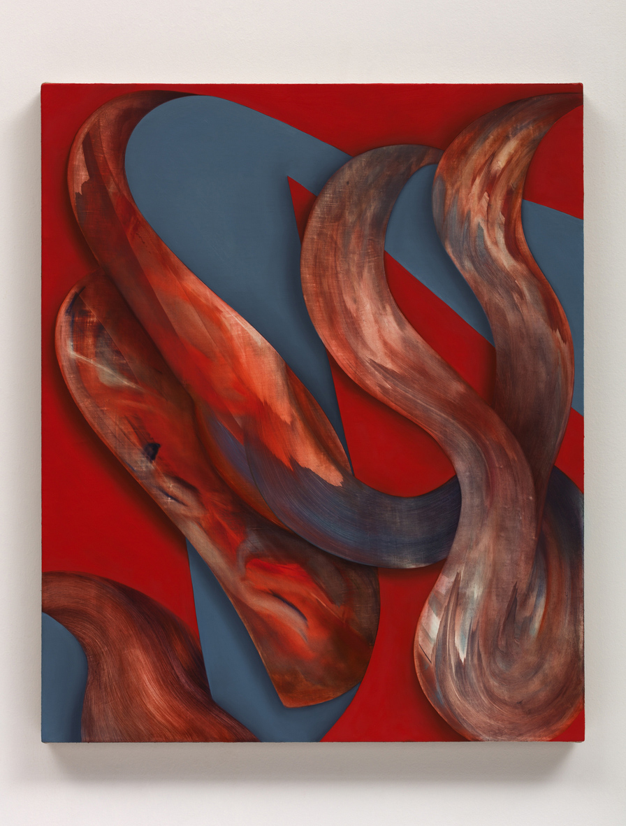 Untitled  2018  Oil on linen  78.7 x 61 x 2.5 cm / 31 x 24 x 1 in