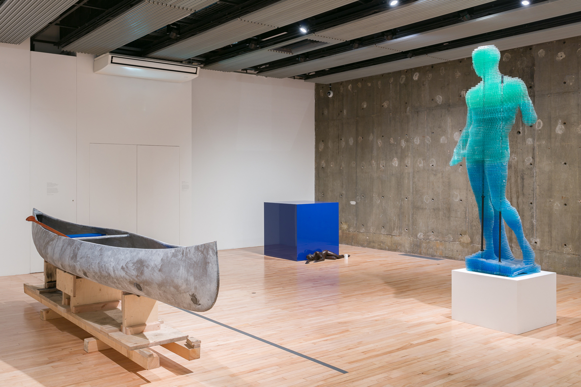 Darbyshire, Gander, Pica, Starling  Installation view  Hayward Gallery, London, UK  2018