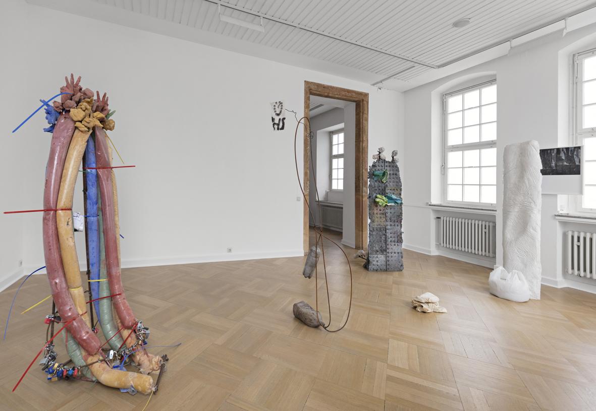 Scripts Installation view Bielefelder Kunstverein, Bielefeld, DE 2018