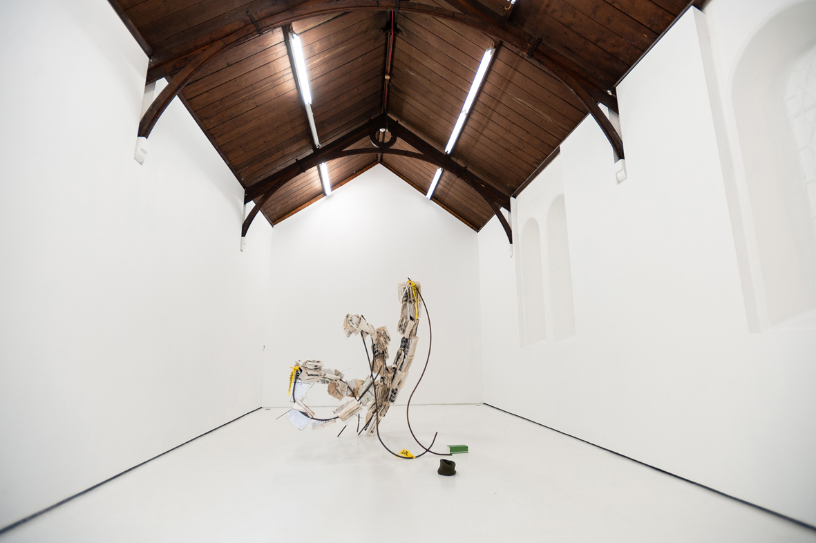 Michael Dean: Laughing for Crying  Installation view  St Carthage Hall, Lismore Castle Arts, Lismore, IE  2019