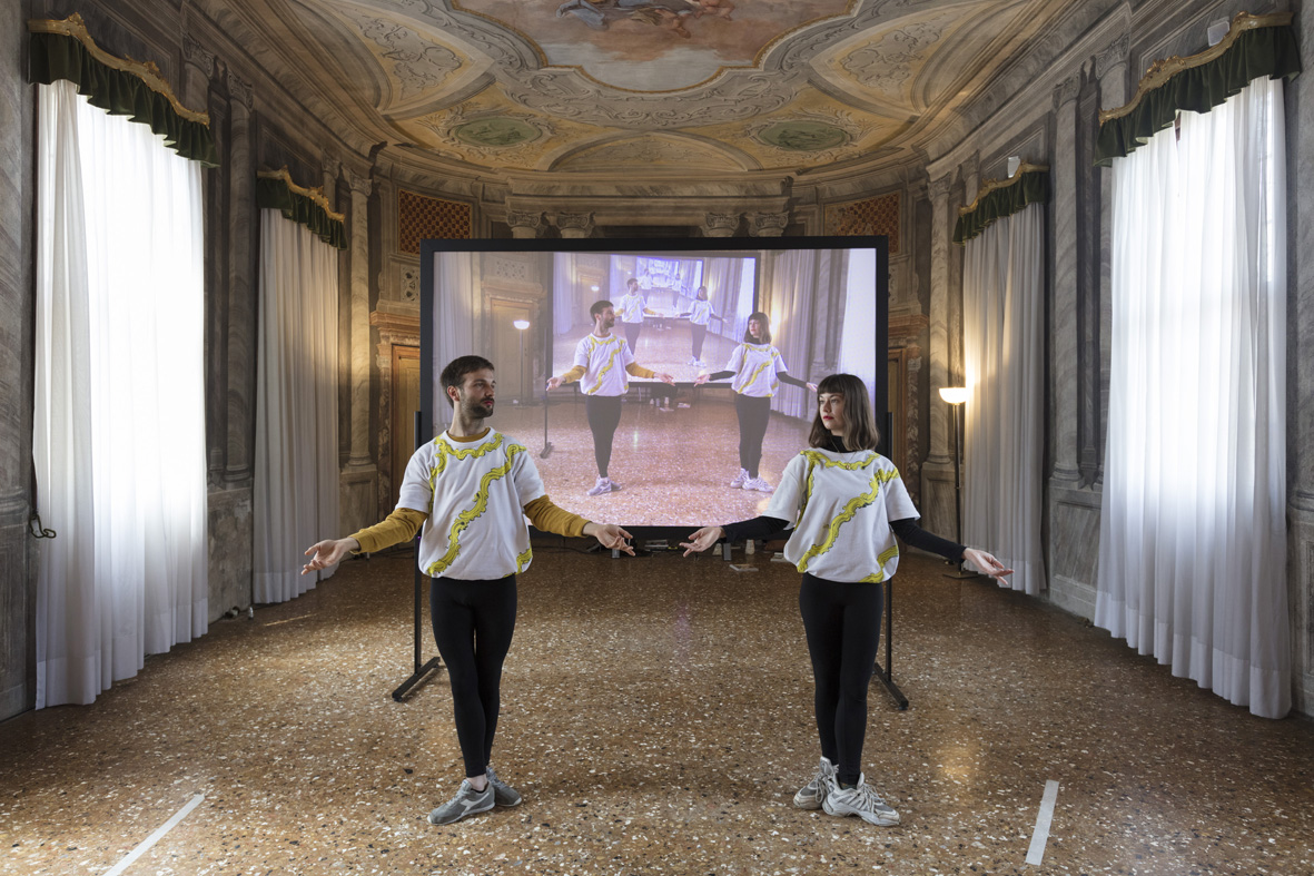 Carousel de Crystal  Installation view  Music Room of the Ospedaletto Complex, Venice, IT  2019