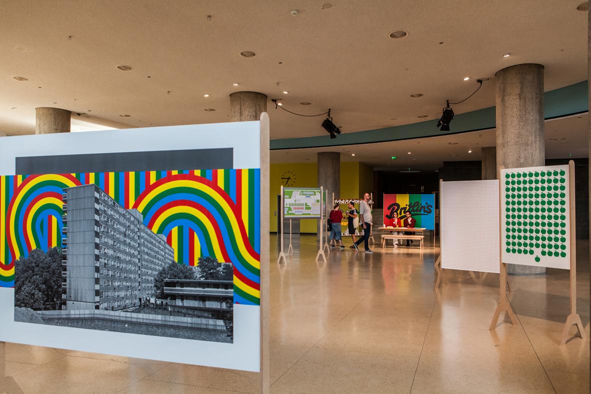 Welcome to Saxnot  Installation view  Haus der Kulturen der Welt, Berlin, DE  2018