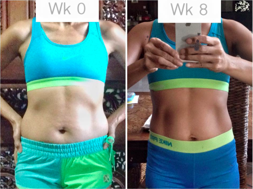 """I have never stuck to a workout program long enough to see results, but I am loving this program! Week 4 and I still look forward to the workouts, I don't get bored with them, it's always something new and different!""   - Kate Cady"